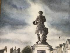 Gainsborough's Statue, Sudbury.JPG