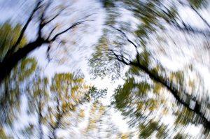 Blurry image representing dizziness