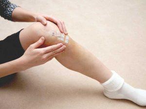 Knee Scar Massage